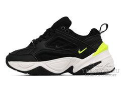 Кроссовки Nike M2K Tekno Black White Green