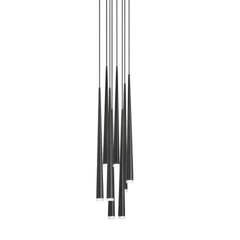 Подвесной светильник копия Slim by Vibia (8 плафонов)