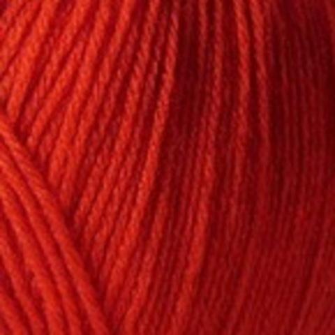 Купить Пряжа Пехорка Детская новинка Код цвета 088-Красный мак | Интернет-магазин пряжи «Пряха»
