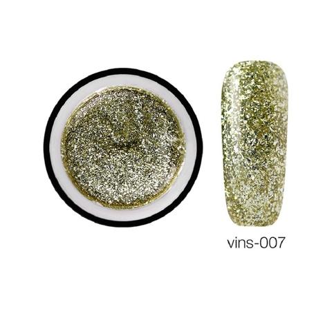 Гелевая краска Vins с блестками 07, 5 мл.