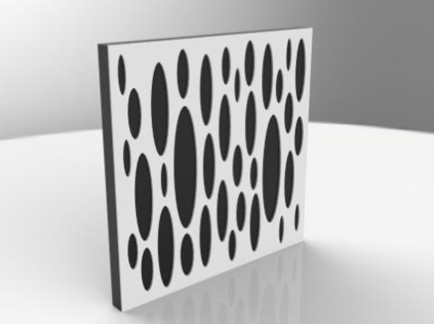 Акустический поролон панель ECHOTON Studio-4 200-1600 Hz