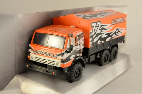 KAMAZ-4310 Auto Rally #72 1:43 Technopark