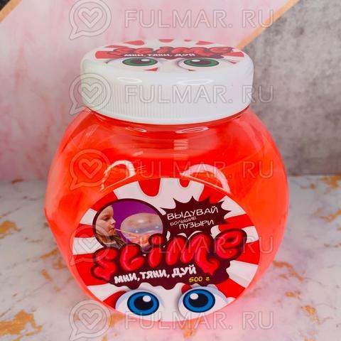Большой слайм Мни, Тяни, Дуй Slime Mega Mix  розовый и белый, 500 г