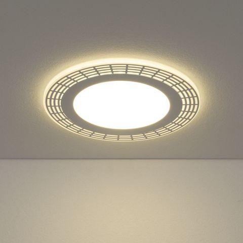 Встраиваемый потолочный светодиодный светильник DSS001 12+6W 4200K