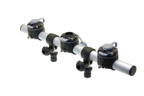 Тарга с тремя замками Gr500-3, 500 мм, черная