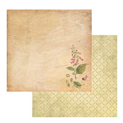 Бумага для скрапбукинга, серия «Ботаника» № 1