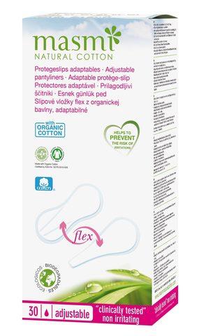 Masmi Natural cotton ежедневные прокладки из органич. хлопка 30 шт