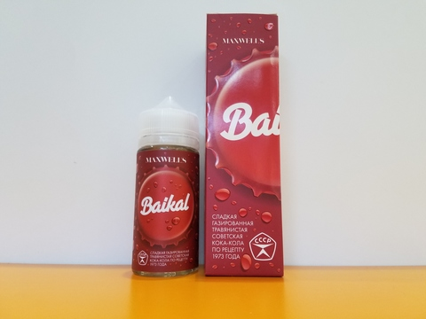 Baikal by MAXWELLS 100ml NO NIC