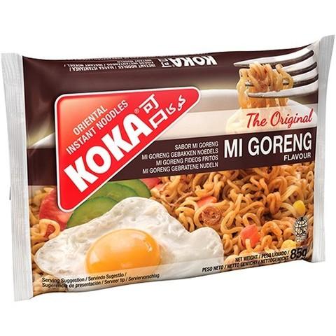 Лапша сингапурская со вкусом жареньй лапши Ми Горенг в пакете KOKA, 85г