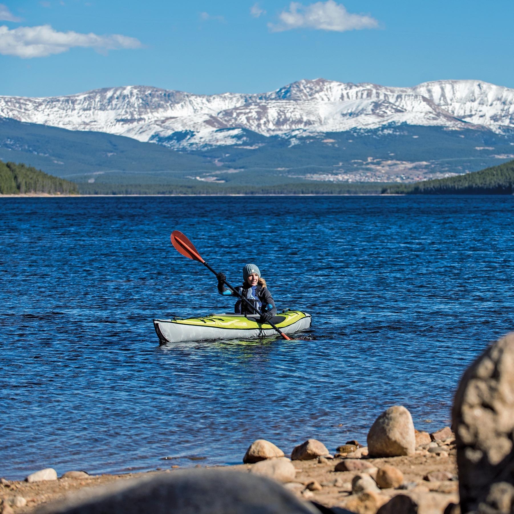 Day Touring Advancedframe® ultralight inflatable kayak, single