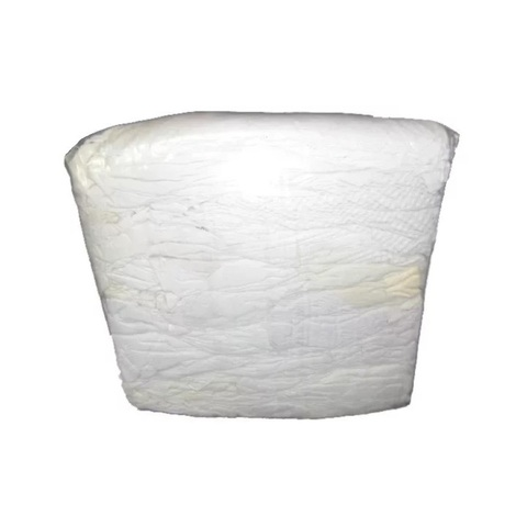 Ветошь белая (ХБ) 40/60 (брикет 10 кг)