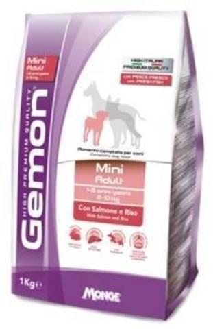 Gemon Dog Mini Adult Salmone & Rice