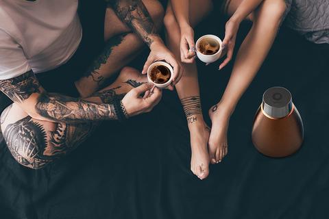 Кофеварка портативная Asobu Pour Over (1 литр), медная