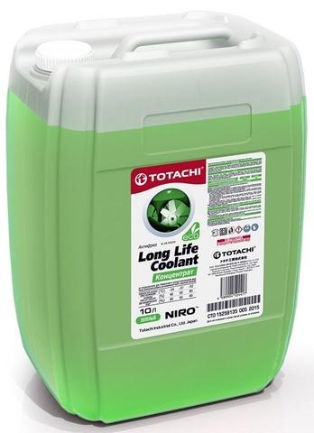 NIRO™ LONG LIFE COOLANT GREEN КОНЦЕНТРАТ TOTACHI Антифриз зеленый (10 Литров)