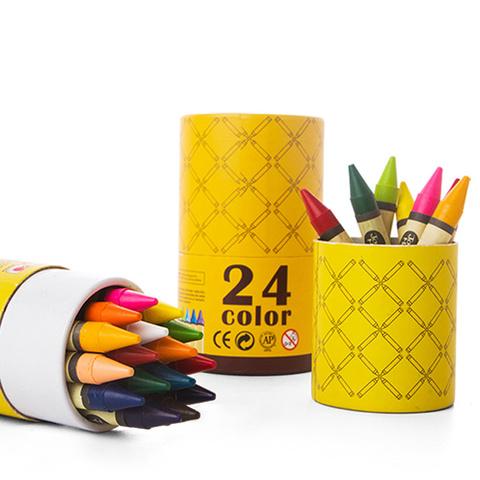 Восковые карандаши - 24 шт.