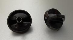 Ручка переключателя конфорки (0-6) черная ЗВИ НЕ ПОСТАВЛЯЕТСЯ