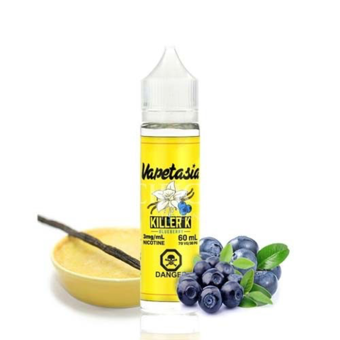 Vapetasia Killer Kustard - Blueberry 60 ml (Original)