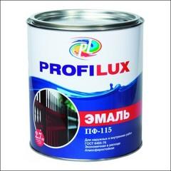 Эмаль глянцевая Dufa PROFILUX ПФ-115 (Коричневый)