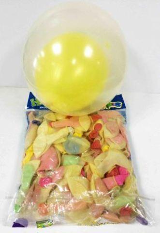 Набор шариков разноцветные двойные 100шт