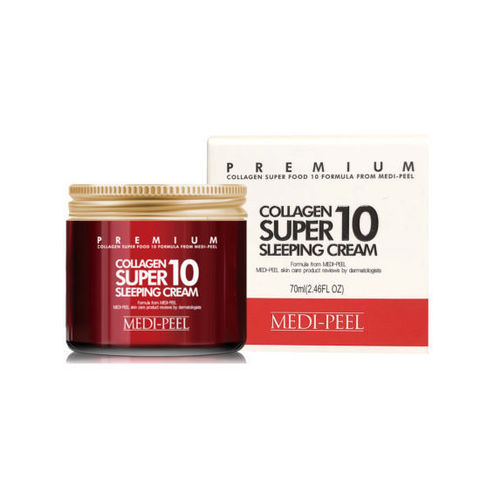Ночной крем для лица с коллагеном Collagen Super 10 Sleeping Cream MEDI-PEEL