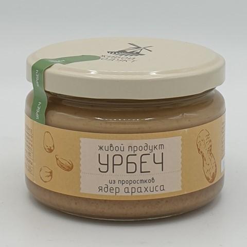 Урбеч из проростков ядер арахиса ЖИВОЙ ПРОДУКТ, 225 гр