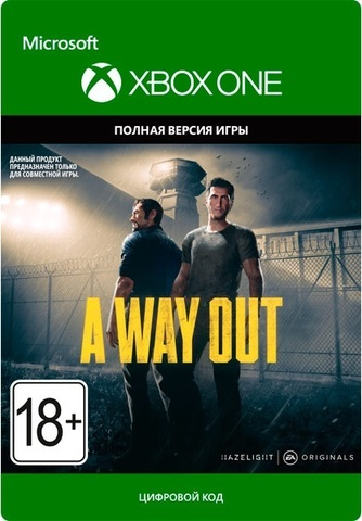 Xbox Store Россия: A Way Out (Xbox One/Series S/X, цифровой ключ, русские субтитры)