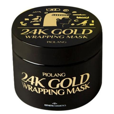 Маска для лица c 24 каратным золотом Esthetic House Piolang 24K Gold Wrapping Mask