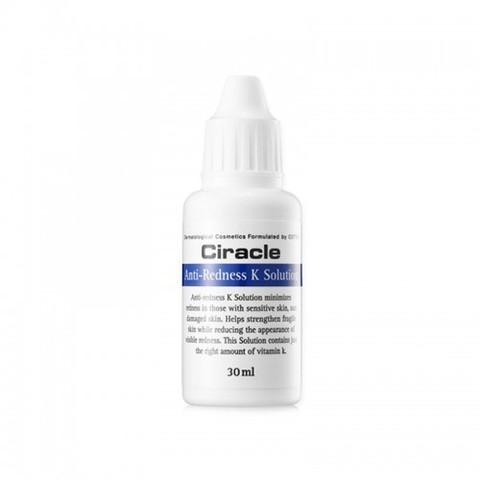 CIRACLE Regeneration Тонер против покраснений с витамином К Anti-Redness K Solution 30мл