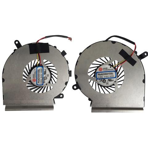 Вентилятор Кулер для ноутбука MSI GE62 GE72 CPU (ЛЕВЫЙ)