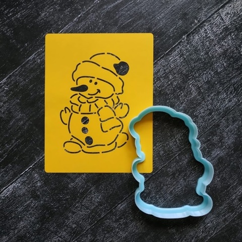 Снеговик №2