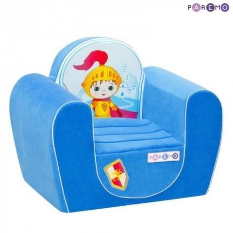 Набор мебели Paremo Детское кресло Рыцарь Голубой PCR316-02