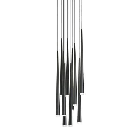 Подвесной светильник копия Slim by Vibia (10 плафонов)