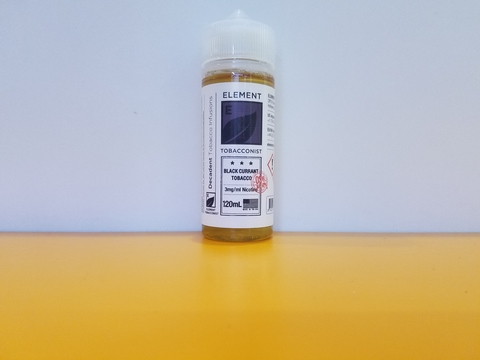 Black Currant Tobacco by ELEMENT 120ml