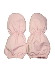 Варежки для новорожденных розовые