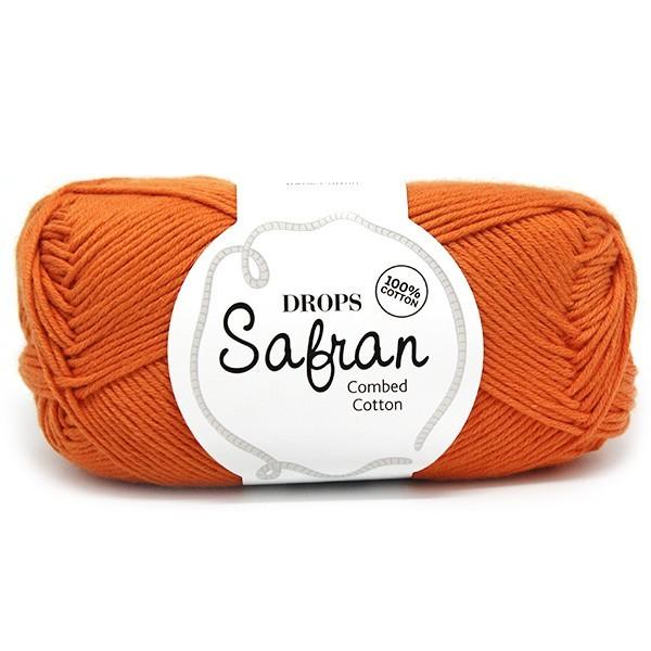 Пряжа Drops Safran 28 оранжевый