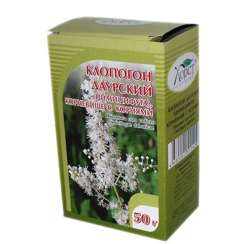 Клопогон даурский (цимицицуга) (корень) 50 г (Хорст)