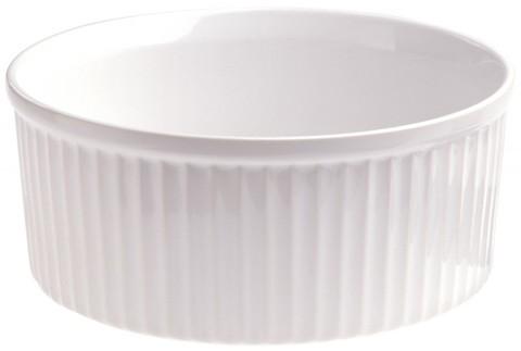 Фарфоровая форма для запекания/суфле, белая, артикул 638799, серия French Classics