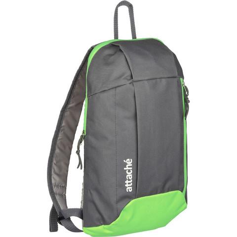 Рюкзак Attache облегченный 395x100x230 мм салатовый/серый