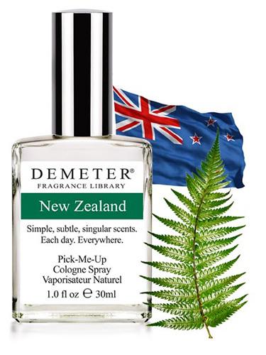 Духи «Новая Зеландия» от Demeter