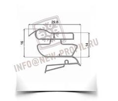 Уплотнитель 65.5*57 см для холодильника Индезит B18.025 (морозильная камера) Профиль 022