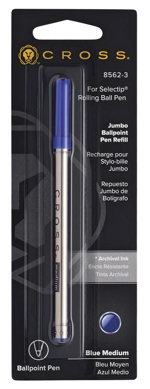 Cross Стержень шариковый для ручки-роллера Selectip, M, синий