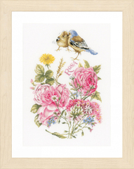 Lanarte Finches and roses