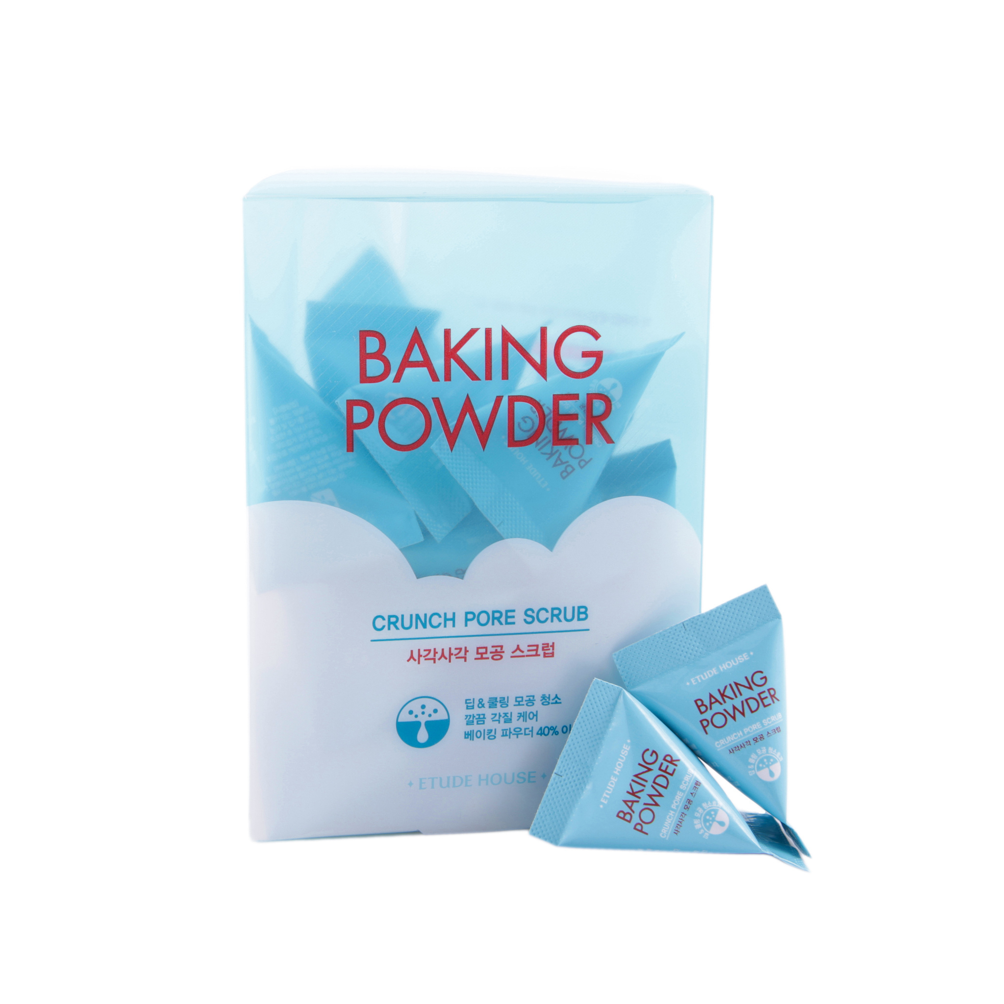 Скраб Для Лица С Содой В Пирамидках (Упаковка) (Etude House Baking Powder Crunch Pore Scrub)