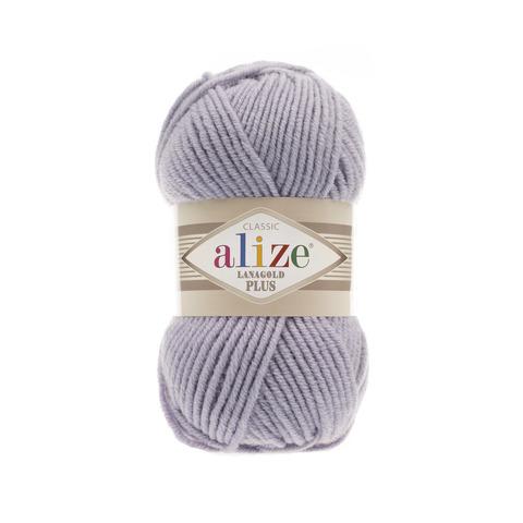 Пряжа Alize Lanagold Plus светло-серый 200