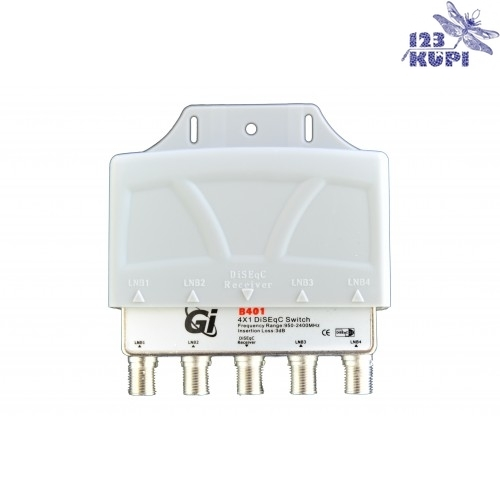 DiSEqC Switch 4 in 1 Gi B-401