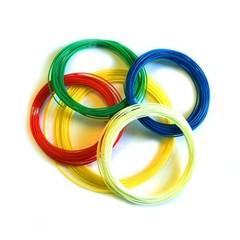 ABS пластик для 3D ручки 50 метров ( 5 цветов по 10 метров)