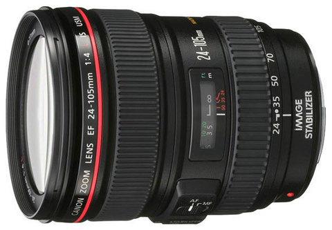 Объектив Canon EF 24-105mm  f/4 L IS USM (JAPAN)