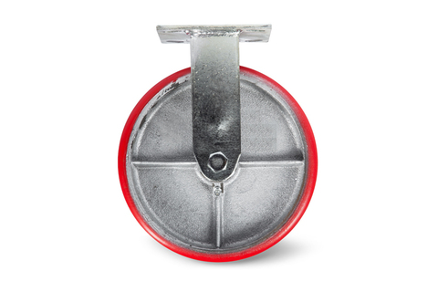 Колесо большегрузное неповоротн. PU (FCp 46) 100мм, шт