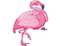 А ФИГУРА/P35 Фламинго розовый