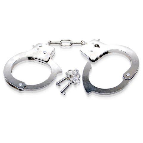 Металлические наручники Metal Handcuffs с ключиками - Pipedream Fetish Fantasy Limited Edition PD4408-00
